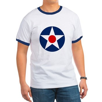 United States Army Air Corps - Roundel - History Clothing & Gifts - Men