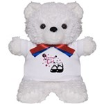 Flowergirl Wedding Party Teddy Bear
