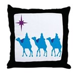 3 Wisemen Throw Pillow