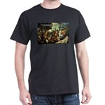 Intoxication Nietzsche Art Black T-Shirt