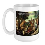 Intoxication Nietzsche Art Large Mug