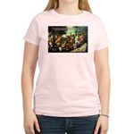 Intoxication Nietzsche Art Women's Pink T-Shirt
