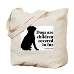 Dog Fur Children Tote Bag