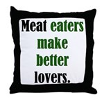 Meat Lovers Throw Pillow