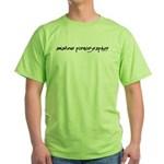 Amateur Pornographer Green T-Shirt