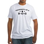 Property of Dog Fitted T-Shirt