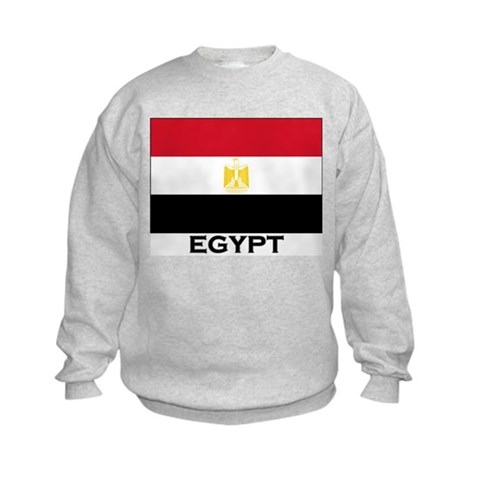 cafepress > Sweatshirts & Hoodies > Flag of Egypt Kids Sweatshirt. Flag of Egypt Kids Sweatshirt