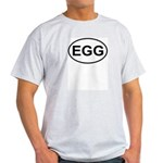 Egg European Oval Light T-Shirt