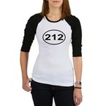 212 New York City Area Code Jr. Raglan