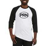 PRN As Needed Medical Oval Baseball Jersey