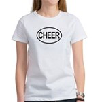 Cheer Cleerleading Cheerleader Oval Women's T-Shir