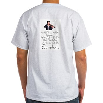 Suzuki Violin T-Shirt--When I Was A Lad