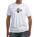 Bearded Clam Fitted T-Shirt