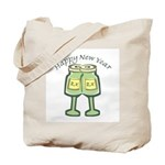 Happy New Years Toast Tote Bag
