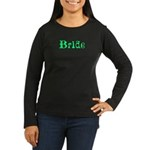 Envy Bride Tee Women's Long Sleeve Dark T-Shirt