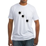 Bullet Holes Fitted T-Shirt