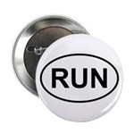 "Run Runner Running Track Oval 2.25"" Button (100 pa"