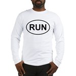 Run Runner Running Track Oval Long Sleeve T-Shirt
