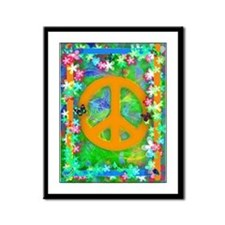Retro PEACE Poster 1 Poster