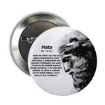 """Plato Truth Reality 2.25"""" Button (100 pack)"""