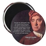 """David Hume Philosophy 2.25"""" Magnet (10 pack)"""