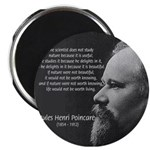 "Poincare: Nature Science 2.25"" Magnet (100 pack)"