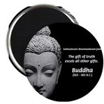 """Buddhist Religion: Gift of Truth 2.25"""" Magnet (100"""