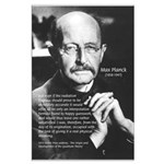 Max Planck Quantum Theory Large Poster