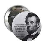 President Abraham Lincoln Button