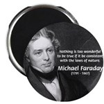 "Michael Faraday 2.25"" Magnet (100 pack)"