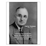 President Harry Truman Small Poster