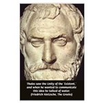 Greek Philosophy: Thales Large Poster