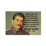 Joseph Stalin Rectangle Magnet (10 pack)