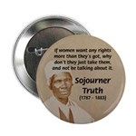 "Feminist Sojourner Truth 2.25"" Button (10 pack)"