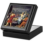 Truth and Wisdom: Socrates Keepsake Box