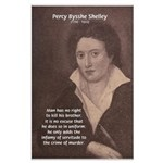 Writer Percy Bysshe Shelley Large Poster