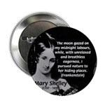 "Mary Shelley Frankenstein 2.25"" Button (10 pack)"