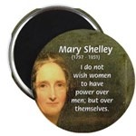Novelist Mary Shelley Magnet