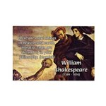 Tragedy of Hamlet Rectangle Magnet (100 pack)