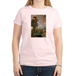Hamlet Famous Soliloquy Women's Pink T-Shirt
