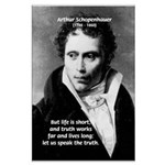 Schopenhauer Philosophy Truth Large Poster