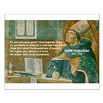 Saint Augustine of Hippo Small Poster