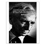 Bertrand Russell Small Poster