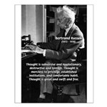 Philosophy Bertrand Russell Small Poster