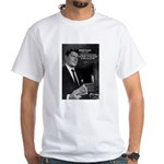 President Ronald Reagan White T-Shirt