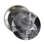 "Open Society: Karl Popper 2.25"" Button (100 pack)"