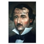 Writer Edgar Allan Poe Large Poster