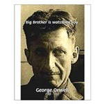 Orwell Big Brother 1984 Small Poster