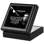 Motivation Richard Nixon Keepsake Box