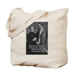 Man and Woman: Nietzsche Tote Bag